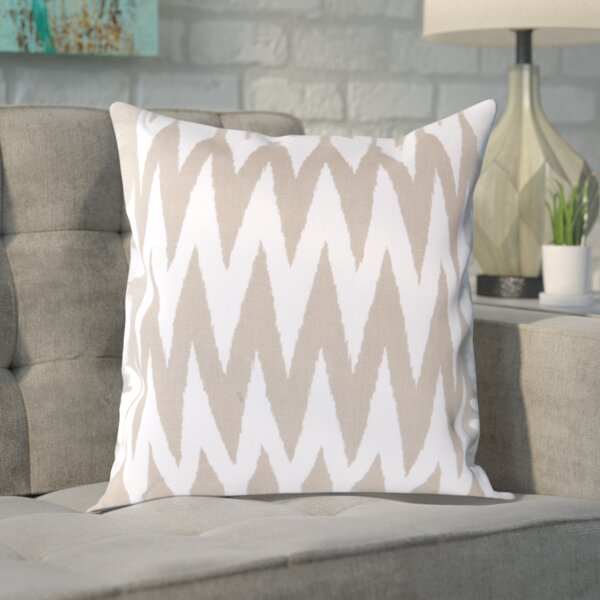 Vaughn 100% Cotton Throw Pillow Cover by Wrought Studio